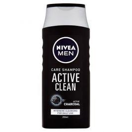 Nivea Šampon s aktivním uhlím pro muže Active Clean 250 ml