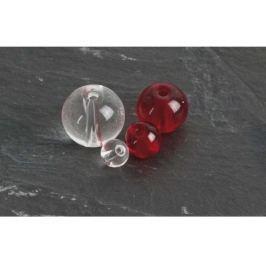 Saenger Pike Fishing Korálky PFS Round Glass Beads Červené 8 mm