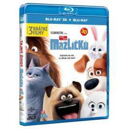 Tajný život mazlíčků (2D+3D, 2 disky)   - Blu-ray
