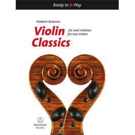 KN Violin Classics for two Violins Škola hry na housle