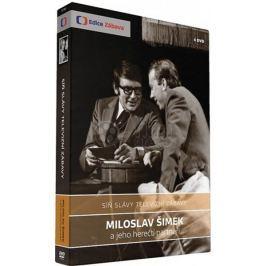 Síň slávy televizní zábavy: Miloslav Šimek (4DVD)   - DVD