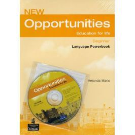 Maris Amanda: New Opportunities Global Beginner Language Powerbook Pack