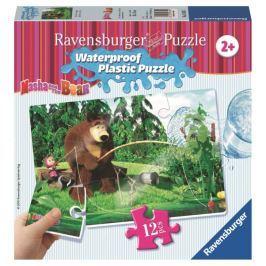 Ravensburger Máša a Medvěd 12 plast. dílků II