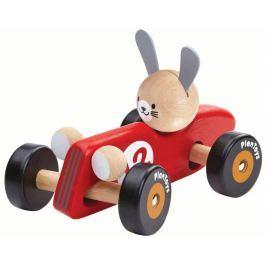 Plan Toys Zajíc - závodník Auta