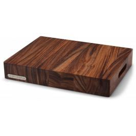 Continenta Krájecí deska dřevo akácie 39,5x30x6 cm Prkénka