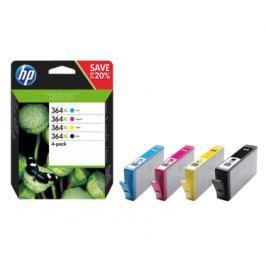 HP 364XL čtyřbalení originálních inkoustových kazet s vysokou výtěžností (N9J74AE) Spotřební materiál