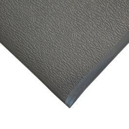 Šedá gumová protiskluzová protiúnavová průmyslová rohož - 18,3 m x 150 cm x 0,9 cm Pracovní, průmyslové