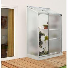 VITAVIA skleník VITAVIA IDA 900 matné sklo 4 mm stříbrný Skleníky