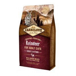 Carnilove Reindeer for Adult Cats – Energy & Outdoor 2 kg Granule pro kočky