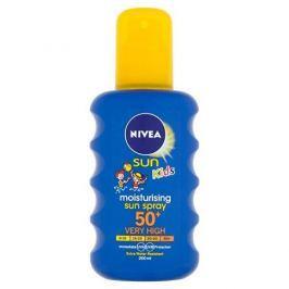 Nivea Dětský barevný sprej na opalování OF 50+ (Moisturising Sun spray) 200 ml