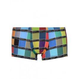 Bruno Banani pánské barevné boxerky Hipshort Colour Code - Velikost: S