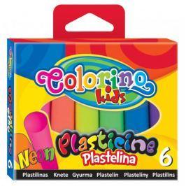 Modelína Colorino neonová 6 barev