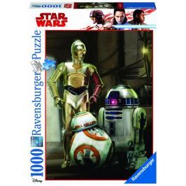 Ravensburger Disney Star Wars: C 3PO, R2 D2 & BB 8 1000 dílků