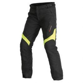 Dainese pánské kalhoty TEMPEST D-DRY vel.54 černá/fluo žlutá, textil