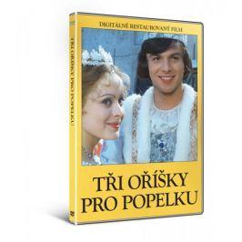 Tři oříšky pro Popelku  (DIGITÁLNĚ RESTAUROVANÝ FILM)   - DVD