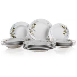 Banquet Sada talířů OLIVES, 18 ks, OK