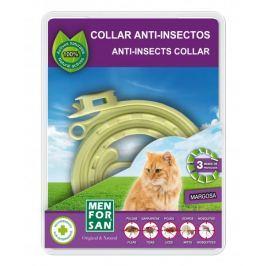 Menforsan Přírodní obojek pro kočky odpuzující blechy a klíšťata