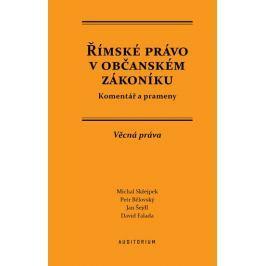 Skřejpek Michal: Římské právo v občanském zákoníku
