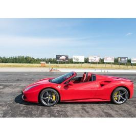 Poukaz Allegria - jízda ve Ferrari 488 Spider - 3 kola polygon Příbram