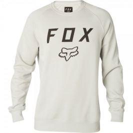 FOX pánská mikina Legacy Crew M smetanová