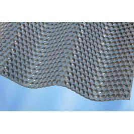 LanitPlast Vlnitý polykarbonát Marlon CSE Diamond VL 76/18 síla 2,6 mm čirý 1,045x2 m