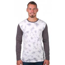 GLOBE pánské tričko Lindeman Ls Tee M bílá