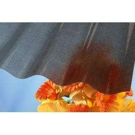 LanitPlast Vlnitý polykarbonát Marlon CSE STRONG VL 76/18 síla 1,3 mm bronz 1,06x3 m
