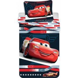 Jerry Fabrics Povlečení Cars 3 McQueen micro