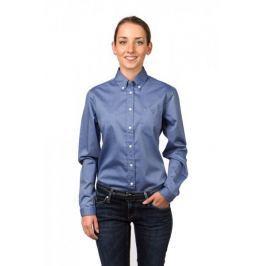 Gant dámská košile s náprsní kapsičkou 34 modrá