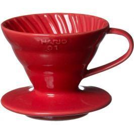 Hario keramický dripper V60-02 červená