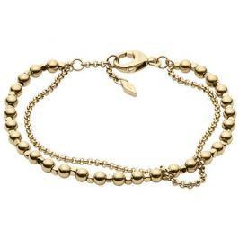 Fossil Pozlacený fashion náramek JA6866710