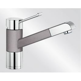 Blanco Zenos S - aluminium/chrom