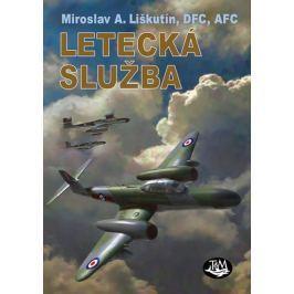 Liškutín Miroslav A.: Letecká služba