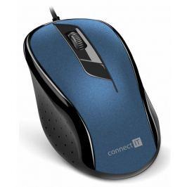 Connect IT optická myš, modrá (CMO-1200-BL)