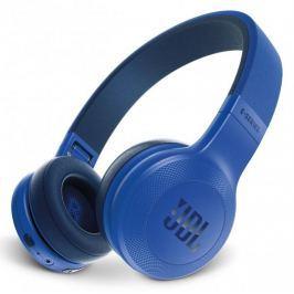 JBL E45BT, modrá - rozbaleno