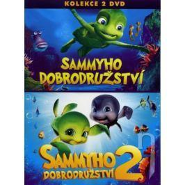 Kolekce Sammyho dobrodružství 1+2 (2DVD)   - DVD