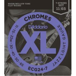 Daddario ECG24-7 Struny pro sedmistrunnou elektrickou kytaru