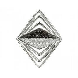 Silver Cat Stříbrný přívěsek s krystaly SC050 stříbro 925/1000