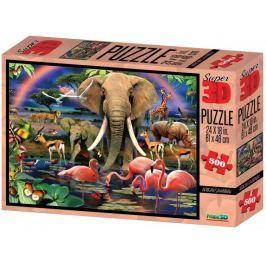 Lamps 3D Puzzle Safari 500 dílků