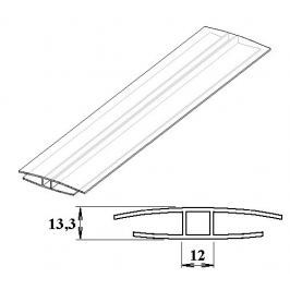 LanitPlast Polykarbonátový H-profil 10 mm 6 m