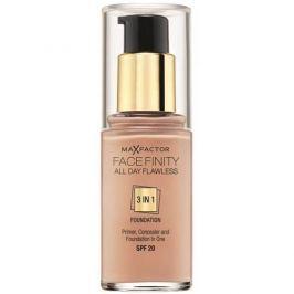 Max Factor Dlouhotrvající make-up Facefinity 3 v 1 (All Day Flawless) 30 ml (Odstín 47 Nude)