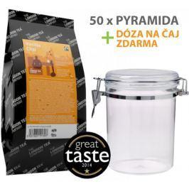 London Tea Company Fairtrade černý čaj pyramidový vanilka s orientálním kořením Vanilla Chai 50ks