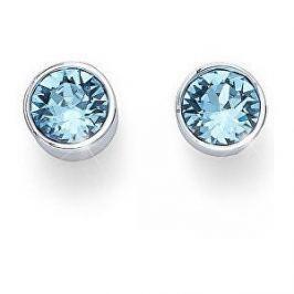 Oliver Weber Náušnice pecky se světle modrými krystaly Ocean Uno 22623 202