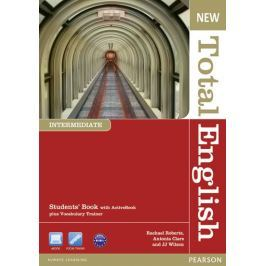 Roberts Rachael: New Total English Intermediate Students´ Book with Active Book Pack