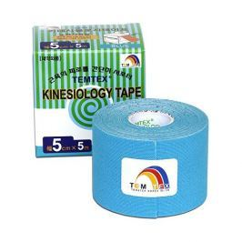 TEMTEX Tejp. TEMTEX kinesio tape Tourmaline 5 cm x 5 m (Varianta Modrá)