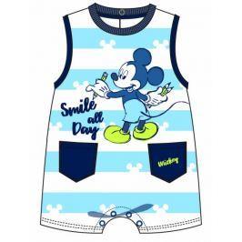 Disney by Arnetta chlapecký overal Mickey Mouse 56 - 62 modrá