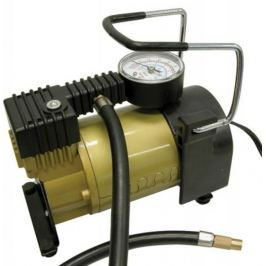 CarPoint Kompresor 12V 7bar s měřičem tlaku