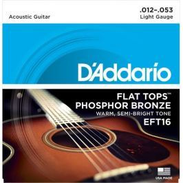 Daddario EFT16  Kovové struny pro akustickou kytaru