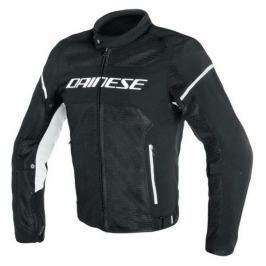 Dainese bunda AIR-FRAME D1 TEX vel.48 černá/bílá, textilní