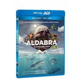 Aldabra: Byl jednou jeden ostrov 3D+2D (2 disky)   - Blu-ray